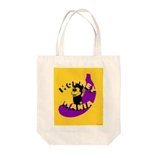 monkey mania Tote bags