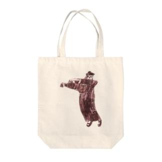 あかいキョンシー Tote bags