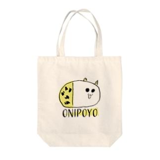 nemunoki paper itemのおにぽよ Tote bags