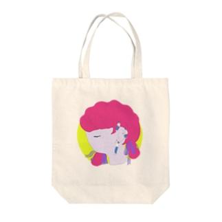mizetauoのイヤーニンゲン Tote bags