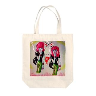 亡国の姉妹 Tote bags