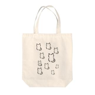 墨ねこさん Tote bags