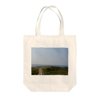 角島 Tote bags
