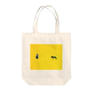 ミラクルボーイ Tote bags