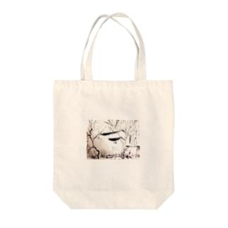 コテージ 春 Tote bags