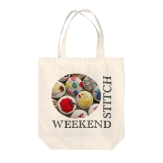 WEEKENDSTITCHロゴ Tote bags