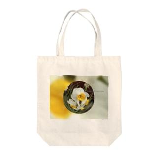 光景 sight735 水仙 花 FLOWERS  宙玉(そらたま) Tote bags