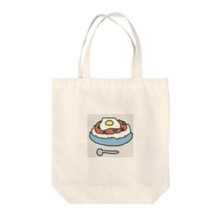 ガパオライス。 Tote bags