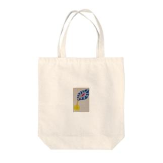 召し上がれ Tote bags
