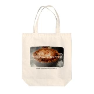 ポリゴンコーヒー1 Tote bags