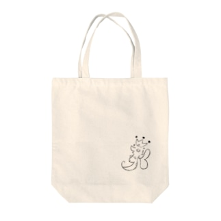 Leafy Isi: DR△G♡N モノクローズ Tote bags