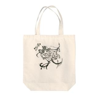 奇形さん Tote bags