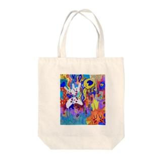 キラキラ悲しみ夢の中 Tote bags