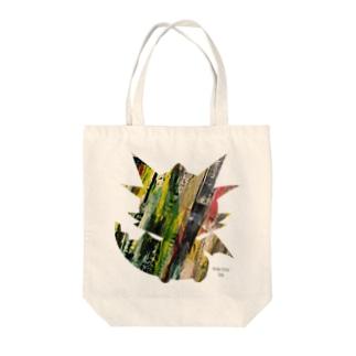 アートなテン Tote bags