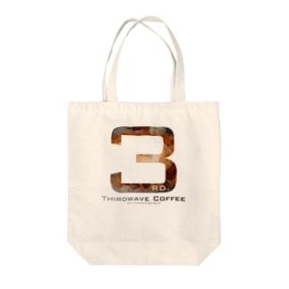 ポリゴンコーヒー2 Tote bags