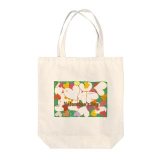 ハッピーバレンタイン Tote bags