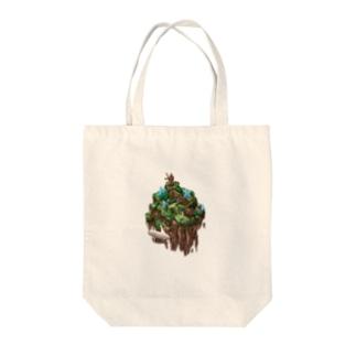浮島 第二拠点 Tote bags