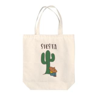 シエスタ Tote bags