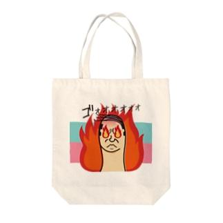 ファイヤー【おやじ指】 Tote bags