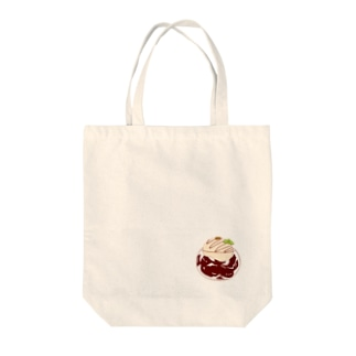 Draw freelyのコーヒーゼリー Tote bags