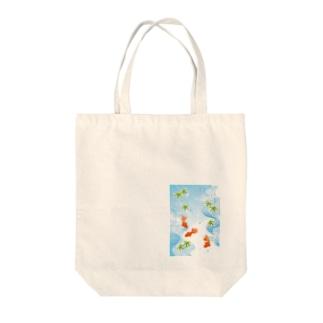 GliateWorkShopの金魚 Tote Bag