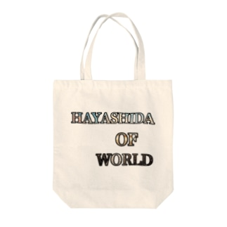 HAYASHIDA_OF_WORLD Tote bags