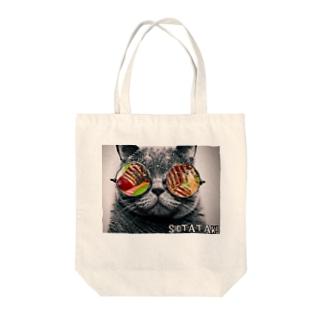 グラサン猫たたき Tote Bag