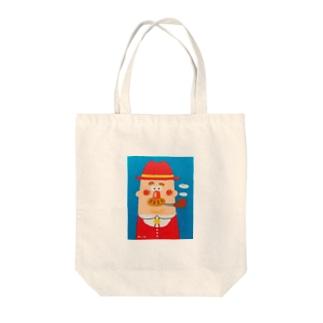 パイプおじさん Tote bags