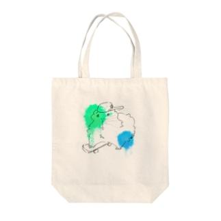 LIFE_is_a_JOKEのクールモル Tote bags