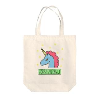 Sweet Dream Unicorn (Blue) Tote bags
