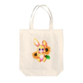 兎(トートバッグ) Tote bags