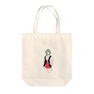 瑣末の緑の女の子 Tote Bag