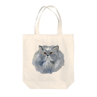 kingにゃんこ Tote bags