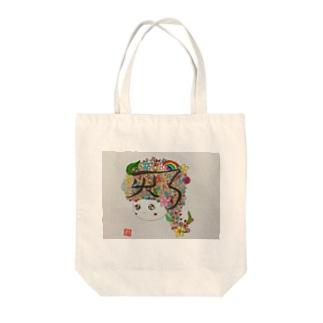 HIKARIちゃん Tote bags