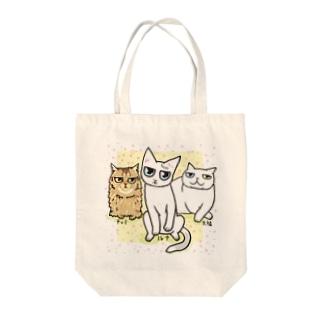 3にゃん♪ Tote bags