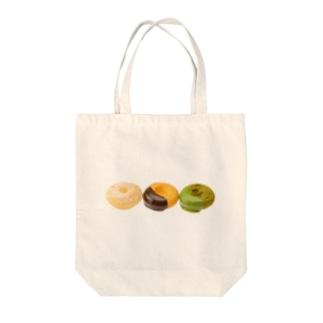 ドーナツたち Tote bags