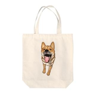 柴犬ちゃん Tote bags