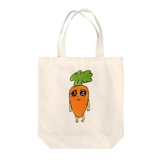 おいしくてかわいい Tote bags