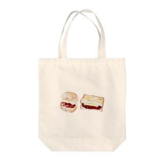 パン あんバターサンド Tote bags