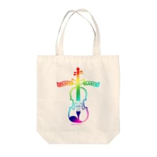 ゲーミングバイオリン Tote bags