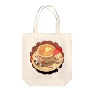 カプチーノちの Tote bags