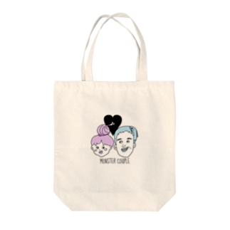 MONSTER COUPLE BAG Tote bags