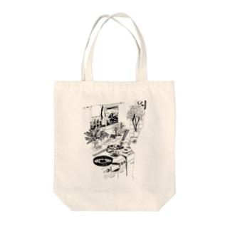 間取りの果実 Tote bags