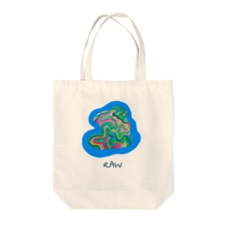 RAW Tote bags