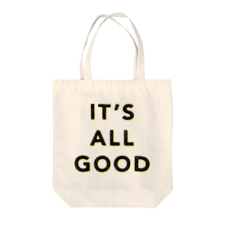 IT'S ALL GOOD YELLOW Tote bags