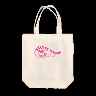 ayaka-kasののんびりネコ Tote bags
