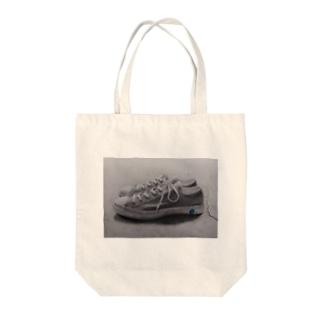 シューズライクぽたりー Tote bags