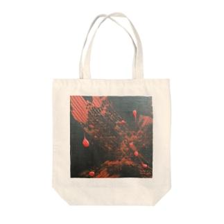 怒り Tote bags