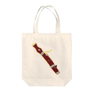 手製フェルトファゴット Tote bags