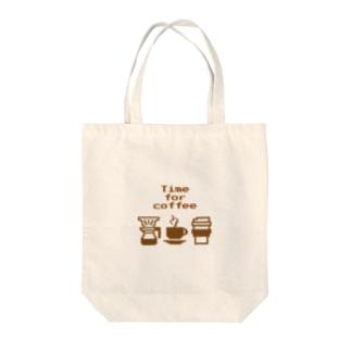 珈琲たいむ Time for coffee Tote Bag